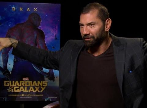News video: 'Guardians Of The Galaxy': Dave Bautista Interview