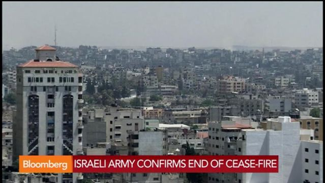 News video: Israel Confirms End of Cease-Fire: Bloomberg Brief