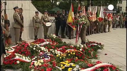News video: Poland: Warsaw Uprising remembered 70 years on